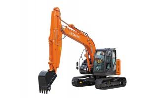 Hitachi introduces ZX135US-6 sliding arm excavator