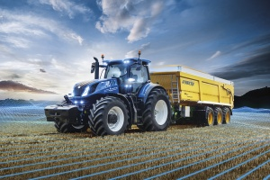 New Holland launches new T7 Heavy Duty at INTELLIGENT FARMING ALL_WAYS event