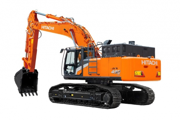 Operating weight: 50,4 t - 52,5 t