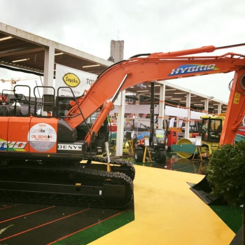 Hitachi unveils a first for the construction industry